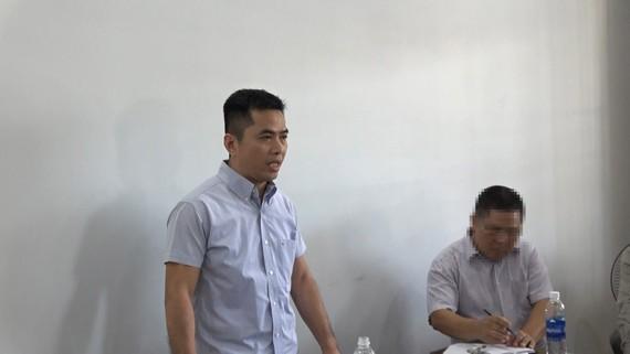 Khởi tố bắt giam chủ dự án biệt thự Thanh Bình, TP Vũng Tàu. Ảnh: VŨ PHONG