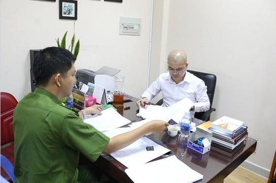 Công an làm việc với Nguyễn Thái Luyện