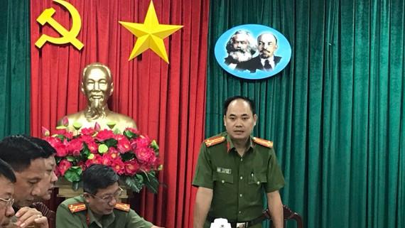 Thượng tá Trần Văn Hiếu. Ảnh: CHÍ THẠCH