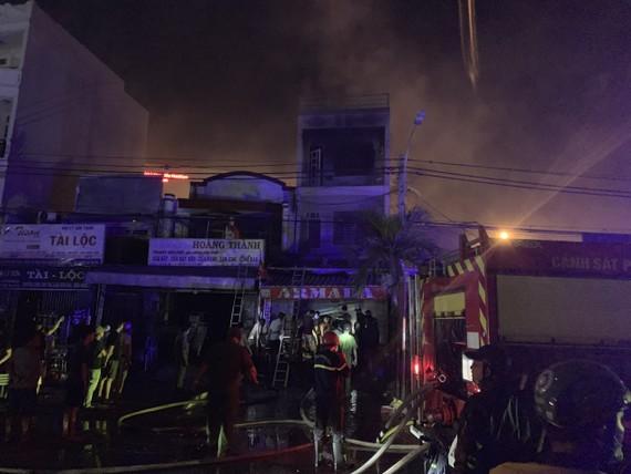 Căn nhà nơi xảy ra vụ cháy. Ảnh: CHÍ THẠCH