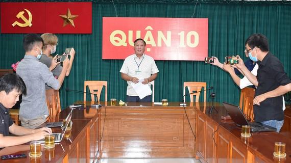 Hình ảnh buổi họp báo