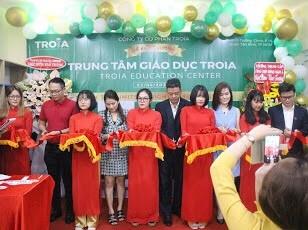 Khai trương Trung tâm Giáo dục Troia ở quận Tân Bình