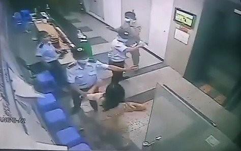 Hình ảnh vụ việc cắt từ clip