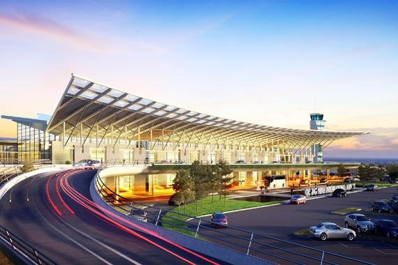 Phối cảnh Cảng hàng không Quảng Ninh