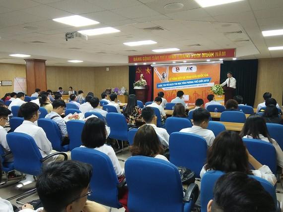 Lễ trao giải cuộc thi Vô địch Tin học Văn phòng Thế giới 2018