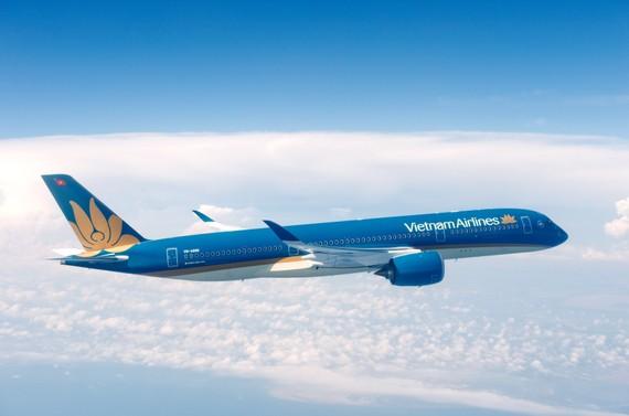Máy bay A350 của hãng Vietnam Airlines
