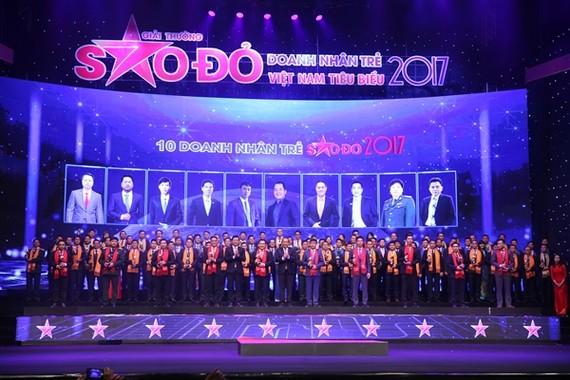 Lễ trao giải thưởng Sao đỏ 2017