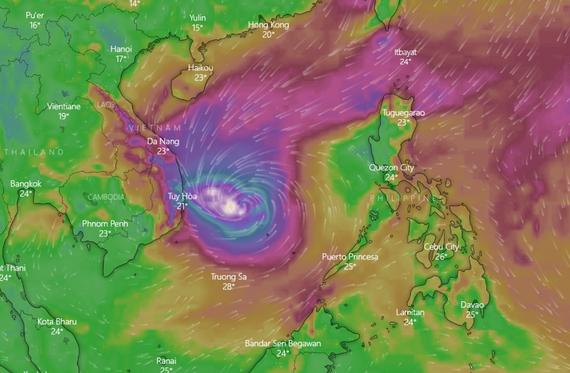 Hoãn huỷ hàng loạt chuyến bay do bão số 6
