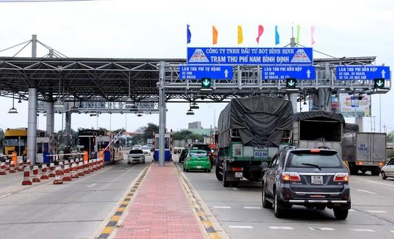 Trạm thu phí Nam Bình Định