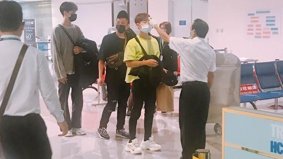 Kiểm dịch y tế tại sân bay Tân Sơn Nhất