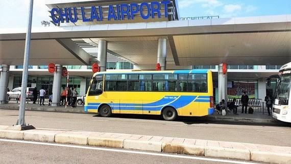 Chưa dừng toàn bộ chuyến bay đến sân bay Chu Lai