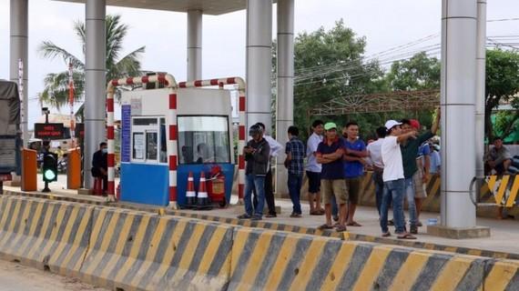 Tình trạng mất an ninh trật tự tại trạm BOT Ninh Xuân