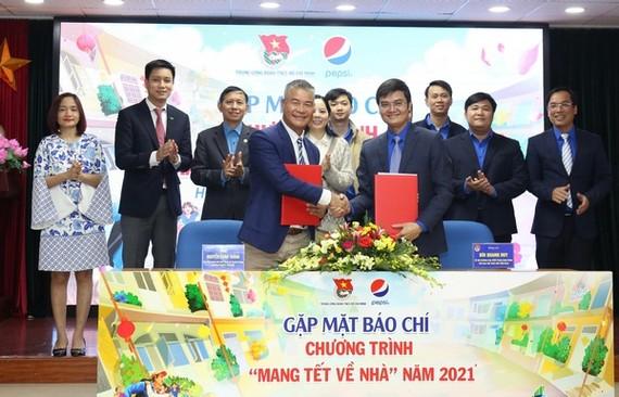Trung ương Đoàn triển khai chương trình Mang tết về nhà 2021