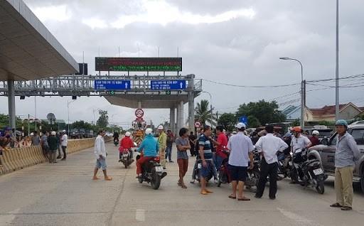 Tình hình phức tạp tại trạm BOT Ninh Xuân kéo dài