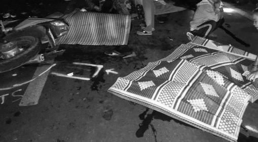 Hiện trường vụ tai nạn giao thông đặc biệt nghiêm trọng xảy ra tại tỉnh Gia Lai hôm  14-2
