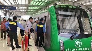 Đường sắt đô thị Cát Linh - Hà Đông đã chạy thử an toàn
