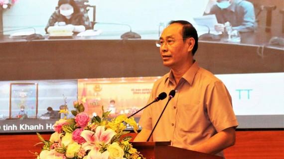 Thứ trưởng Lê Đình Thọ phát biểu tại lễ công bố