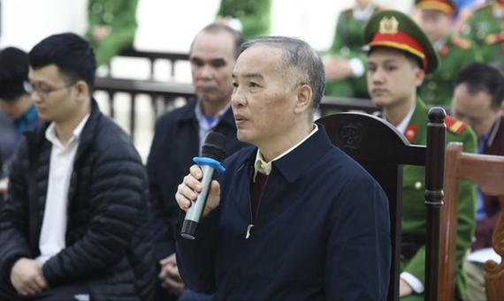 Bị cáo Lê Nam Trà tại tòa