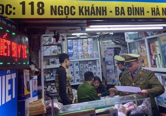 Công an Hà Nội ra quân xử lý nạn đầu cơ khẩu trang y tế