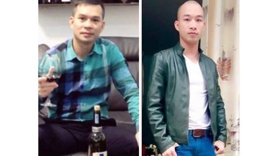 2 đối tượng Nguyễn Quốc Chính (bên trái) và Lê Nguyên Dương