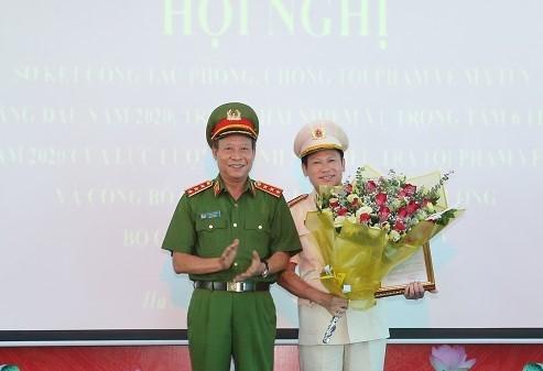 Phó Giám đốc Công an TP Hà Nội giữ chức Cục trưởng Cục Cảnh sát điều tra tội phạm về ma túy