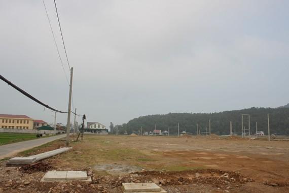 Khu tái định cư của người dân sống cạnh nhà máy rác Nghi Yên