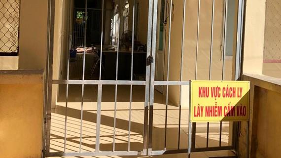 Khu điều trị bệnh nhân Covid-19 tại Bệnh viện Phổi Thanh Hóa. Ảnh: CDC Thanh Hóa