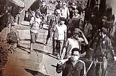 逾百歹徒攜帶兇器以解決矛盾。(圖片來源:互聯網)