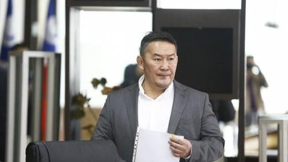 蒙古總統哈勒特馬‧巴圖勒嘎(圖片來源:互聯網)