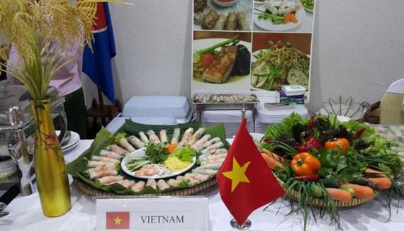 越南美食。