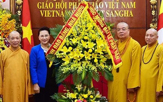 黨中央政治局委員、國會主席阮氏金銀