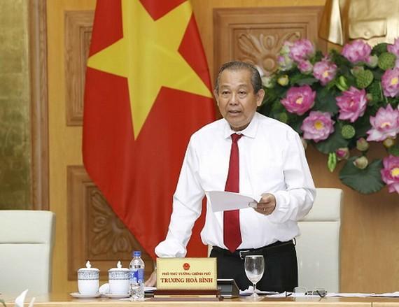 黨中央政治局委員、政府常務副總理張和平