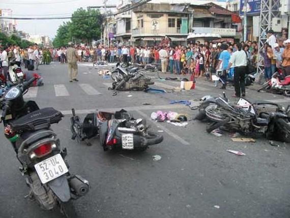 5 個月 3128 人因車禍死亡