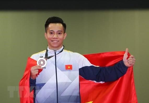 黎清松獲得2020年東京奧運會的入場券。