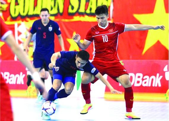 泰國-越南比賽一瞥。