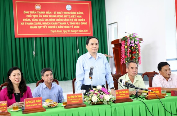 黨中央書記、越南祖國陣線中央委員會主席陳清敏