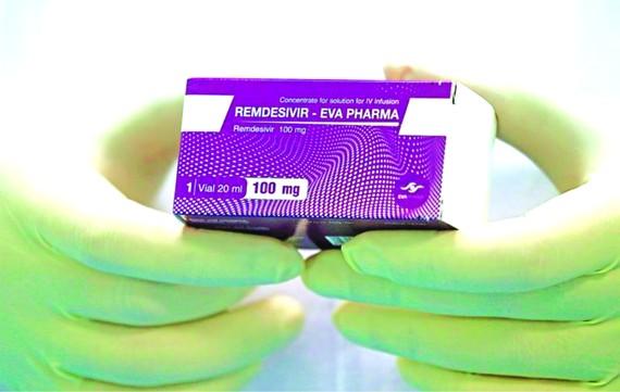 瑞德西韋(Remdesivir)是對新冠肺炎的藥物。