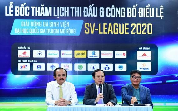 9月28日,在市國立大學所屬全科大學會場舉行了2020年市國立大學大學生擴大足球聯賽(SV-League 2020)小組賽抽籤與公佈條例儀式。