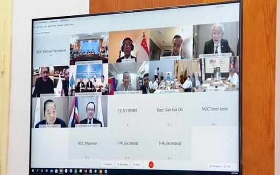 第二次東南亞體育聯合會會議11月20日以視頻方式舉行。