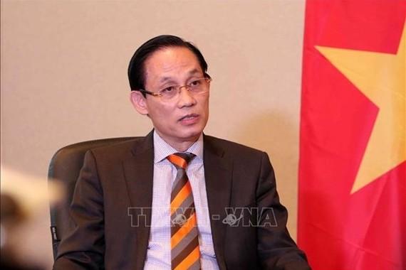 對外交部副部長黎懷忠(圖源:TTXVN )