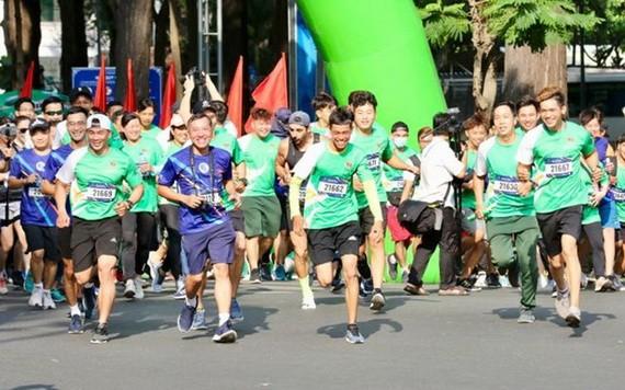 奧林匹克跑步日活動啟動儀式在本市舉行。