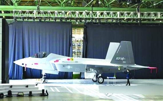 KF-21原型機。