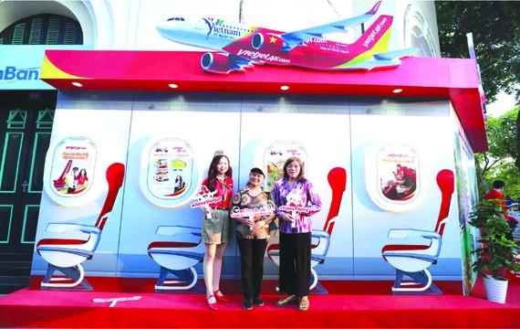 越捷航空推出為乘客服務的優惠 活動。