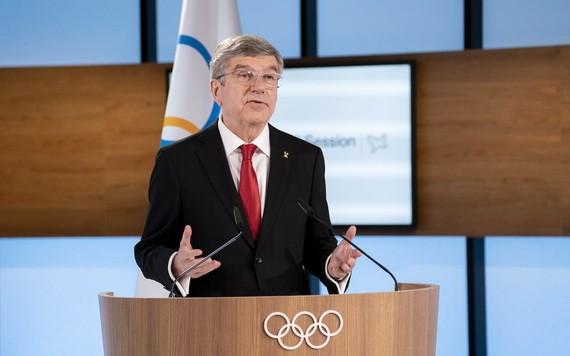 國際奧委會主席巴赫。