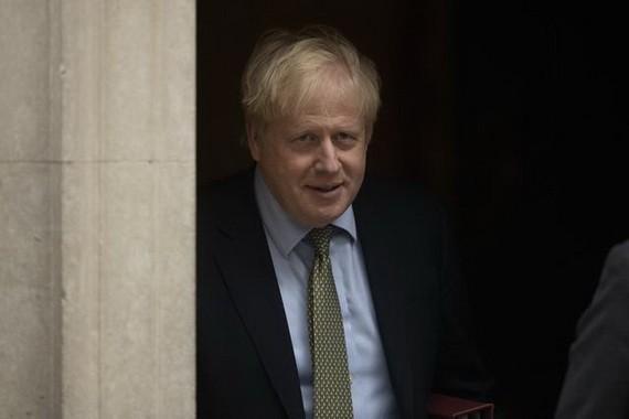 英國首相鮑里斯‧約翰遜