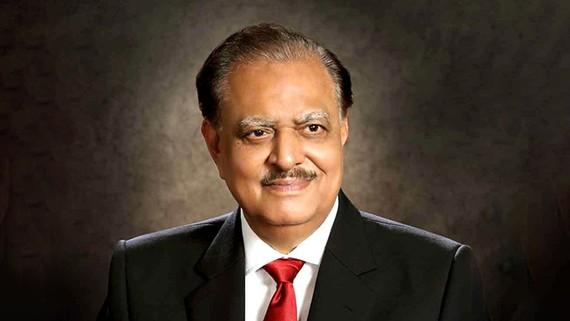 巴基斯坦前總統馬姆努恩‧侯賽因