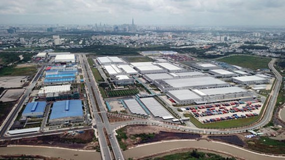 The comprehensive view of the Eastern highly interactive innovative urban area of Thu Duc City. (Photo: SGGP)