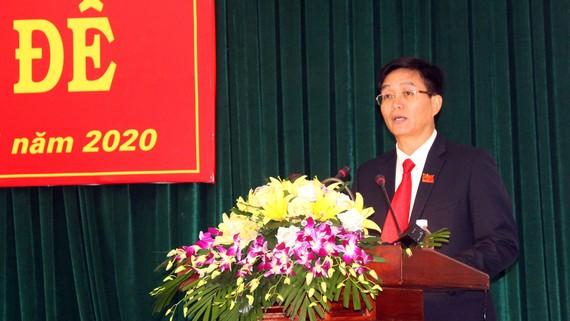 Ông Nguyễn Đình Trung được bầu giữ chức Chủ tịch UBND tỉnh Đắk Nông