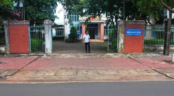 Phòng GD-ĐT Chư Sê, nơi ông Nguyên từng công tác và có nhiều vi phạm, dẫn đến bị kỷ luật