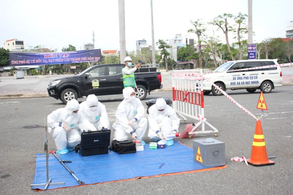 Diễn tập ứng phó sự cố bức xạ, hạt nhân cấp thành phố